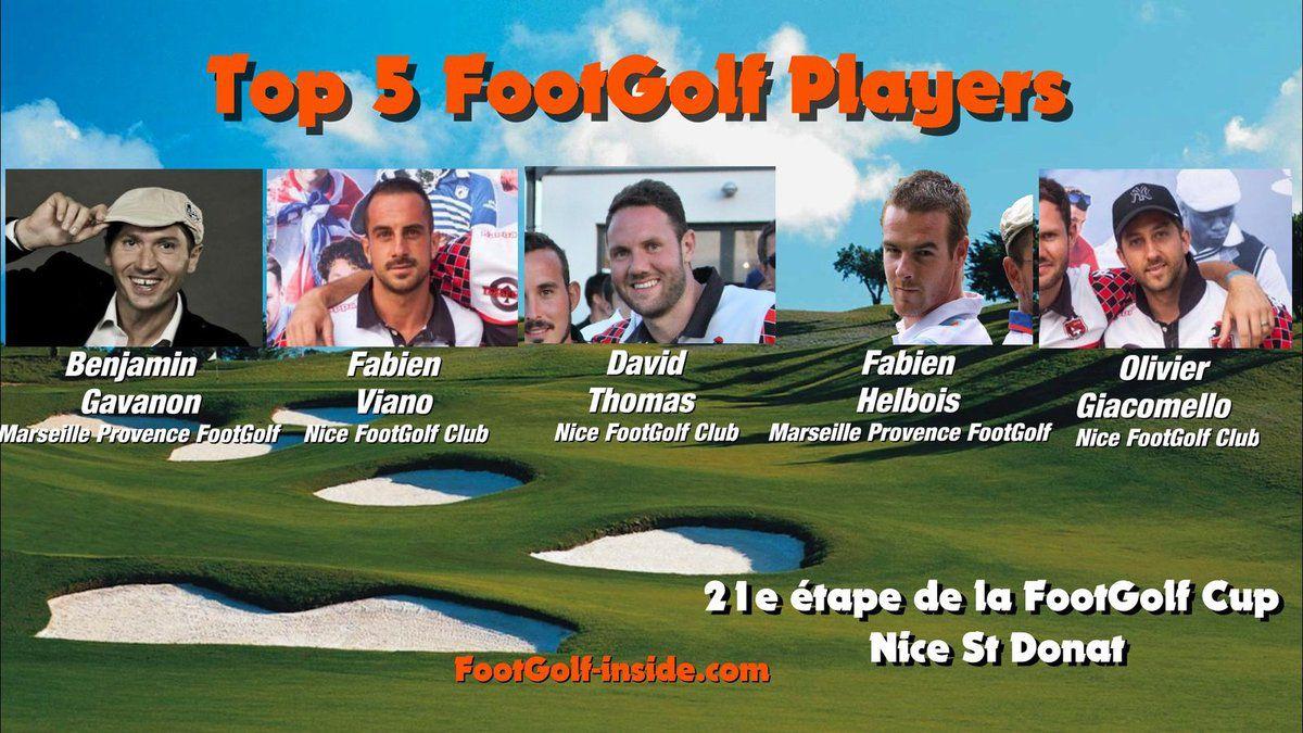 Top 5 FootGolf Players Nice 2016