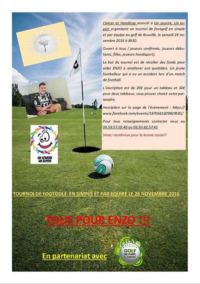 FootGolf Family autour d'Enzo