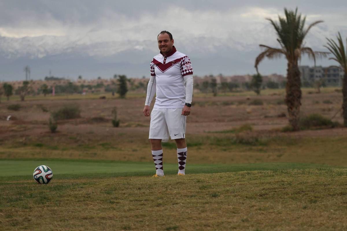 Jonathan lors de la finale de la FootGolf Cup à Marrakech (Photo : Jean-Charle Triolet)