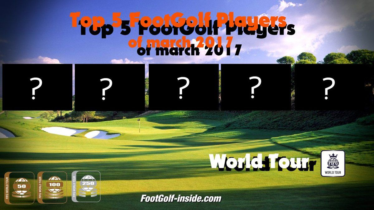 Top 5 World Tour of march
