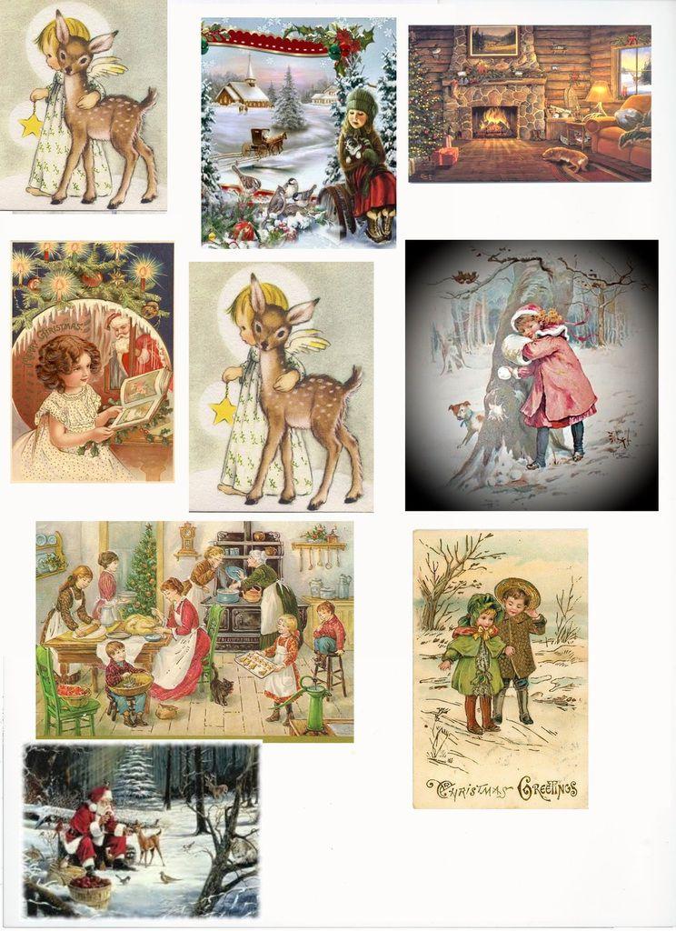 Des images vintage Père Noël