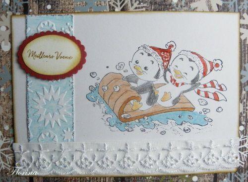Une série de cartes de vœux