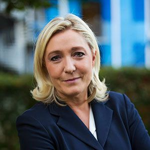 Marine Le Pen invitée du Talk Orange-Le Figaro