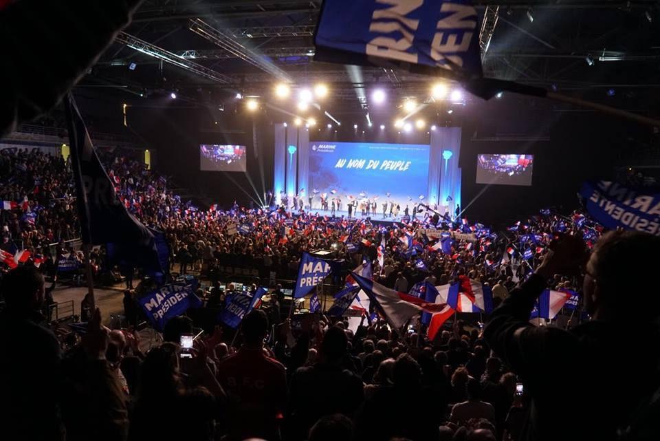 Marine Le Pen en direct du meeting de Metz