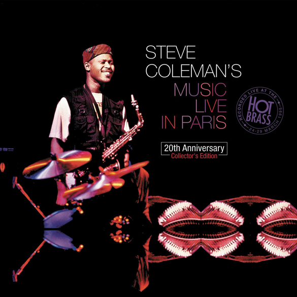 STEVE COLEMAN Music live in Paris