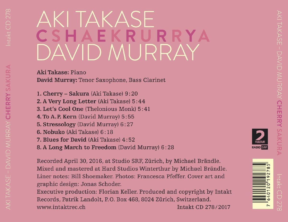 DAVID MURRAY &amp&#x3B; AKI TAKASE : «  Cherry / Sakura »