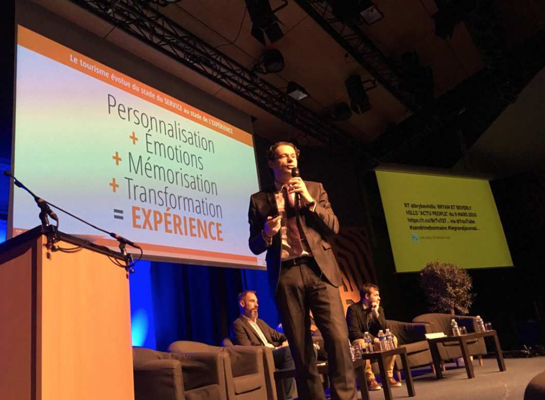 Jean-François Gold explains the strategy of the Picardy regional tourism office