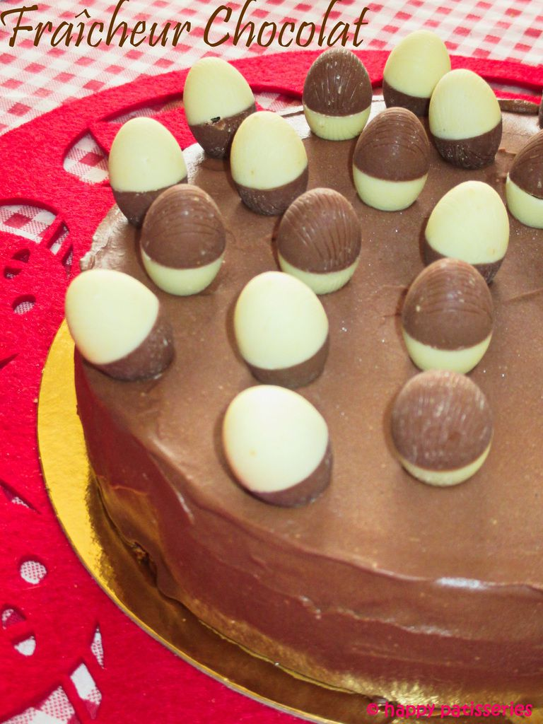 Fraîcheur Chocolat façon Pierre Hermé