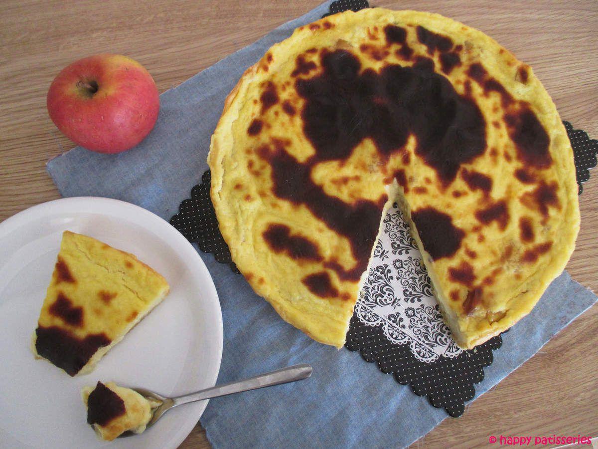 Flan pâtissier aux pommes