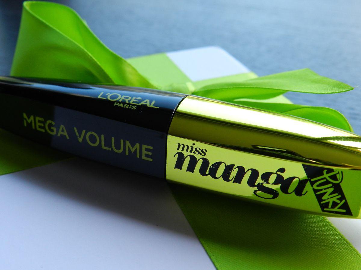 Mascara L'Oréal &quot&#x3B;Mega Volume Miss Manga Punky&quot&#x3B;
