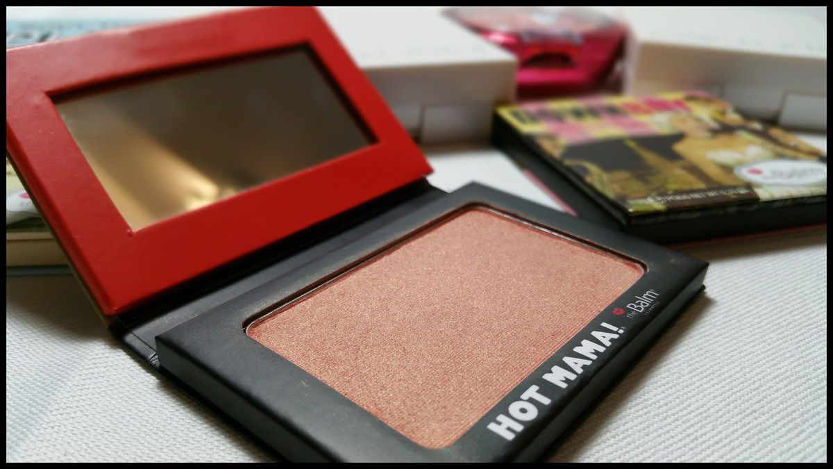 Blush Hot Mama! de The Balm - De l'irisé comme j'aime