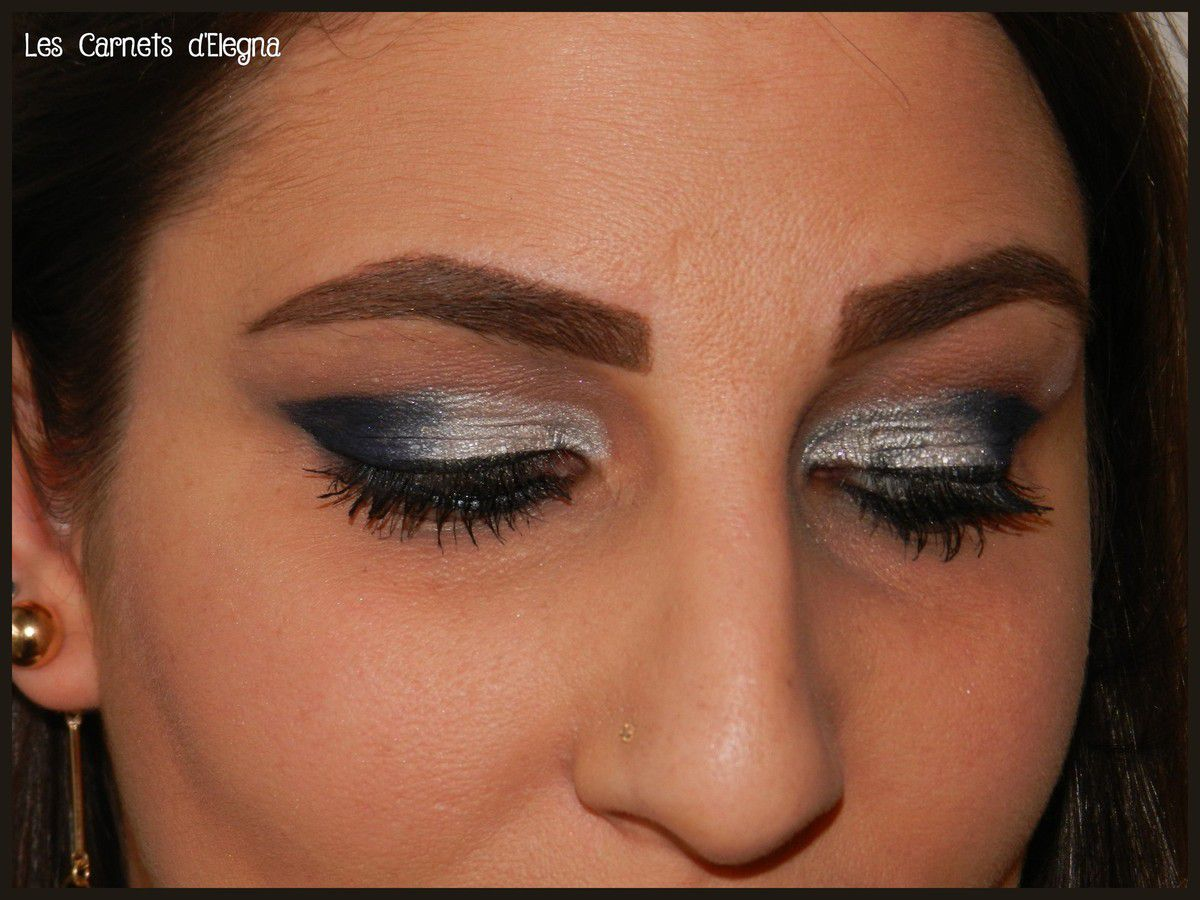 Blue Soft Smokey Eyes / Monday Shadow Challenge