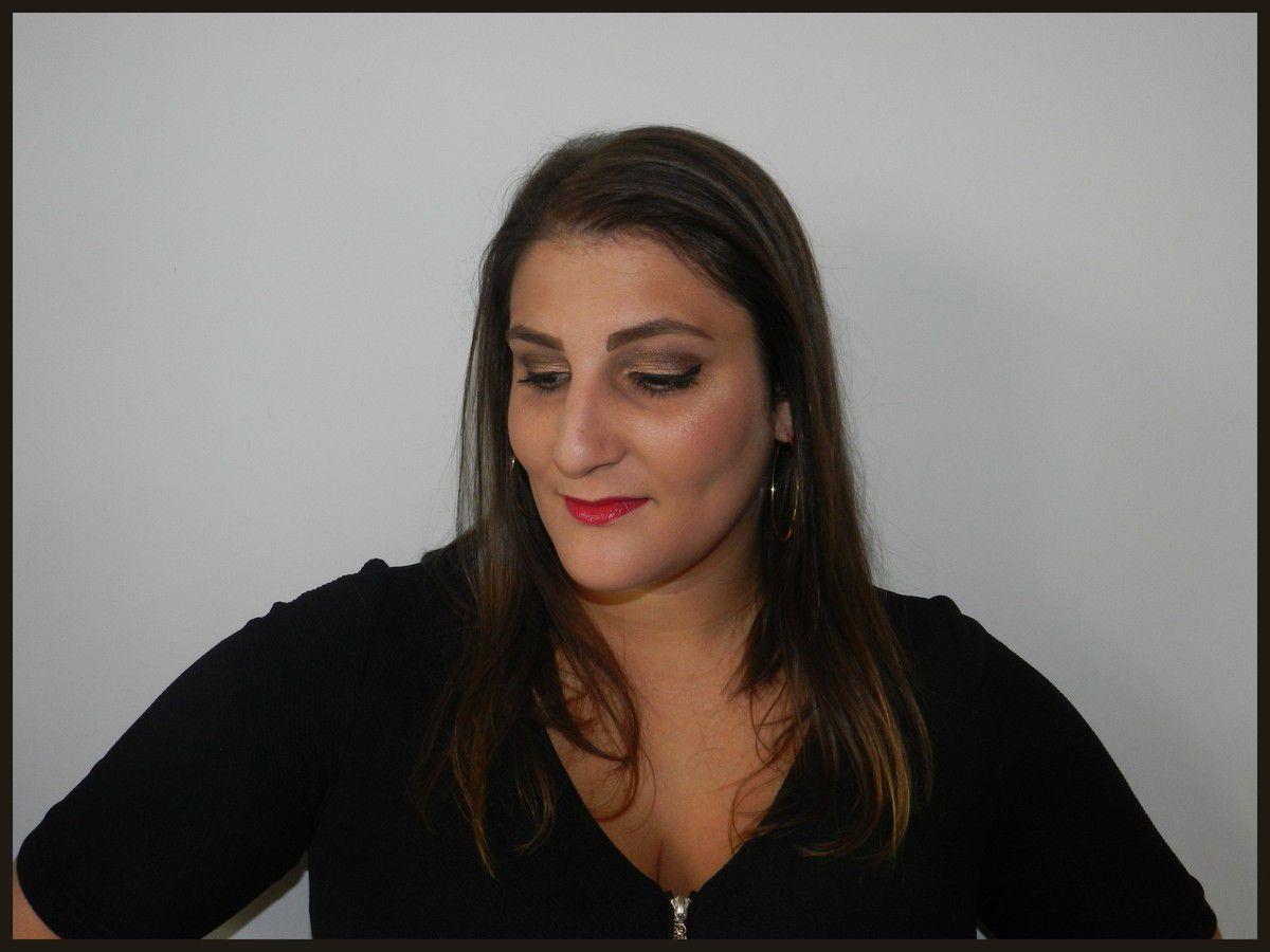 Marron Doré et teint halé / Monday Shodow Challenge
