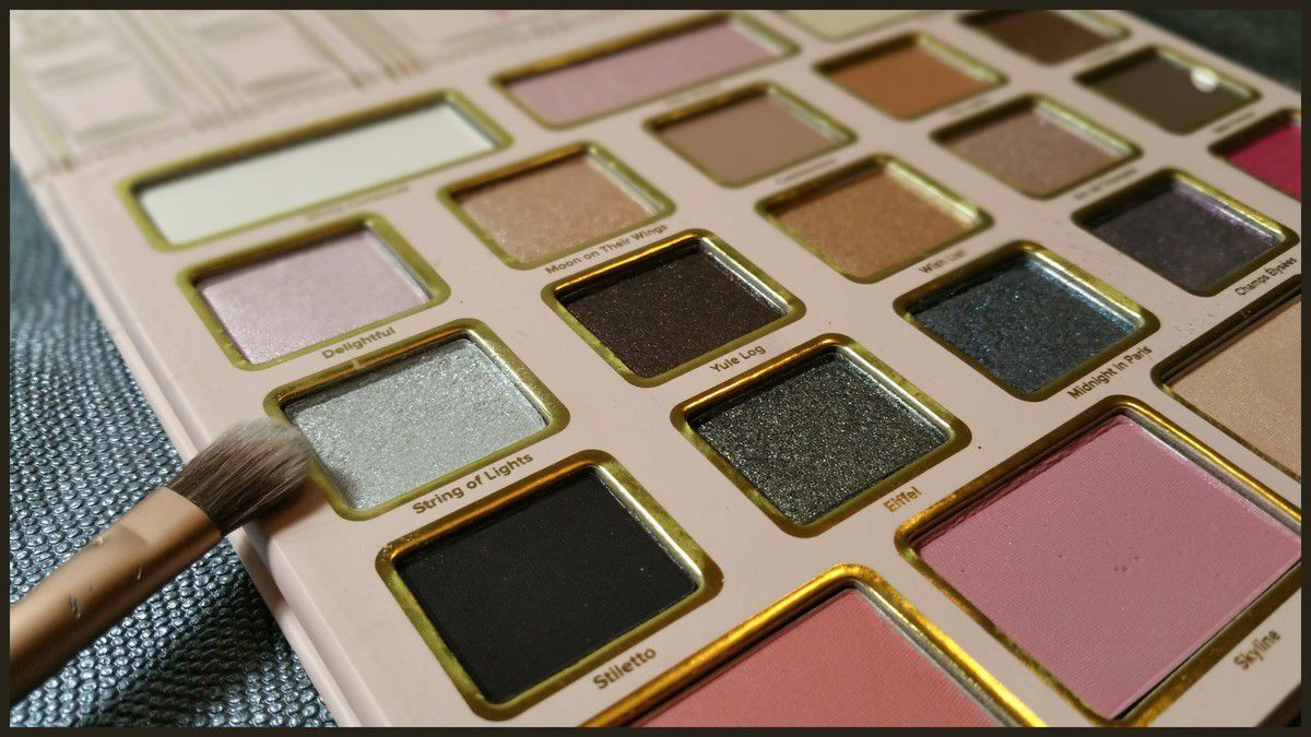 Palette Too Faced Grand Palais