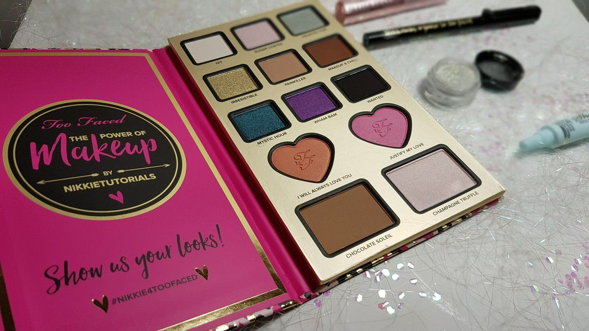 Golden Make-Up - Palette The Power of Makeup