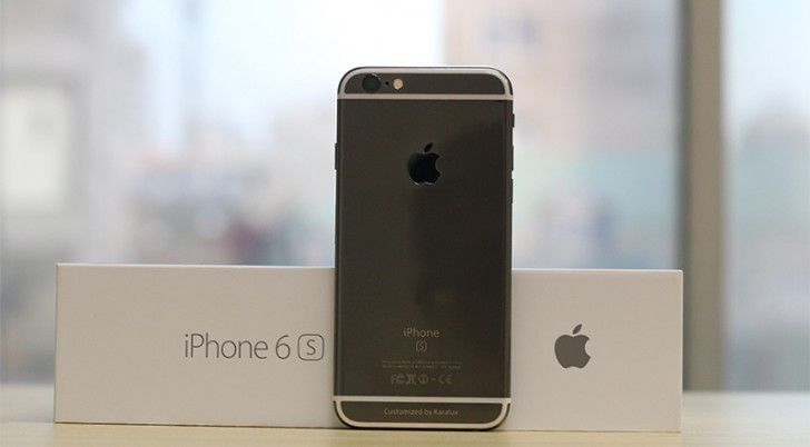 Apple iPhone 6s gets a Black Gold coating just for couple of million