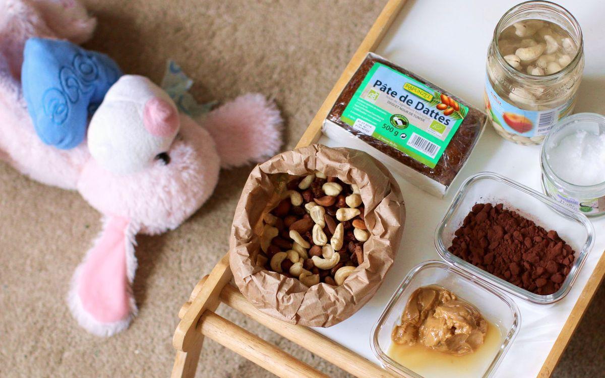 Brownie fondant facile (cru, vegan &amp&#x3B; sans gluten)
