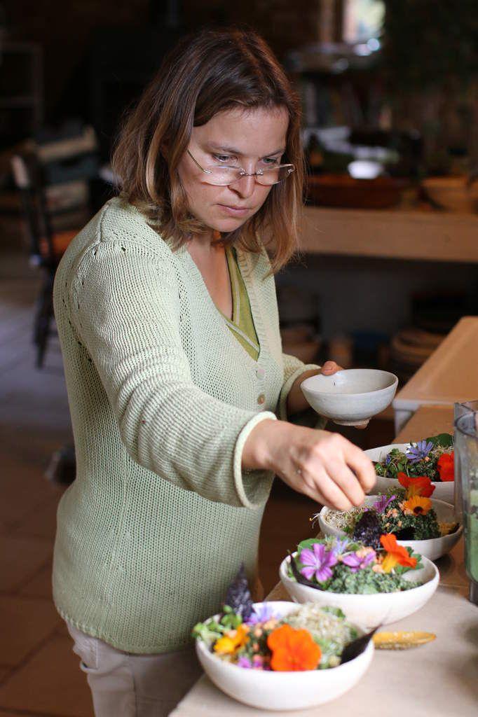 EP#11 Mangez des fleurs . Mincir en santé . Visite chez Biscru