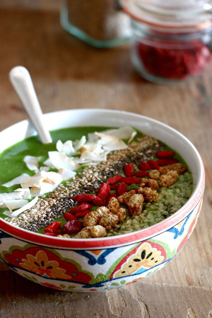 Green Smoothie Bowl (+ code promo !)