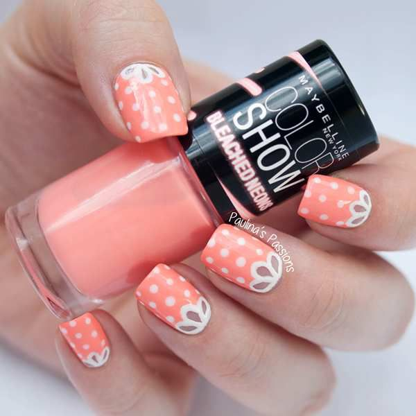 Lovely Dotted Nail Art Design