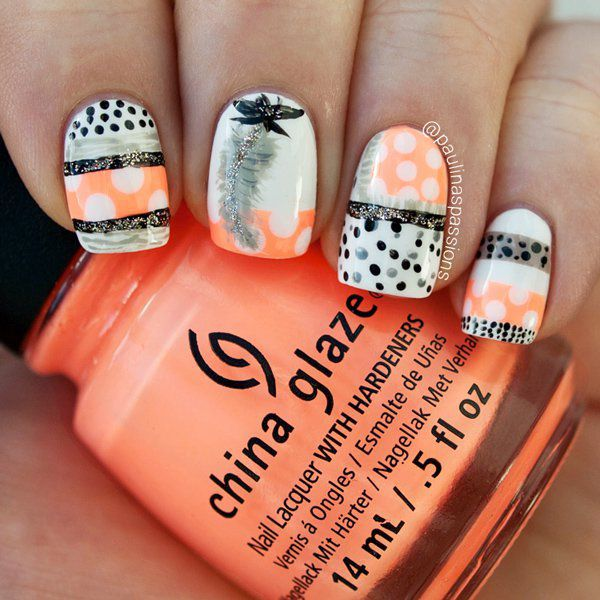 Amazing Tribal Nails to Try This Spring