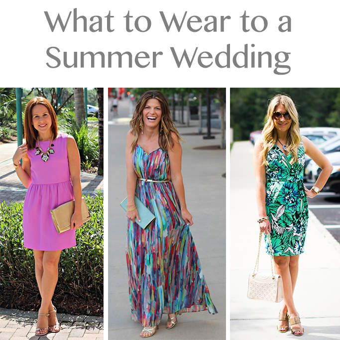 What To Wear A Summer Wedding