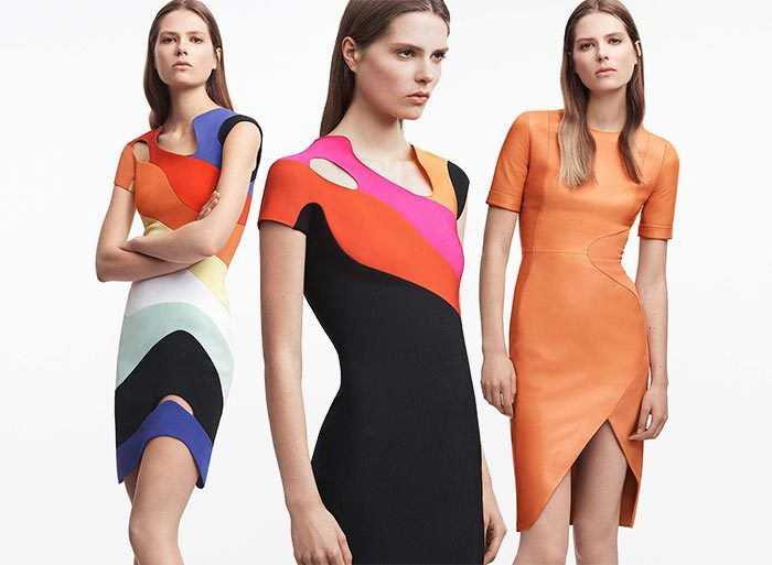 David Koma's Mugler Resort 2017 Collection Capitalizes On Body-Cons