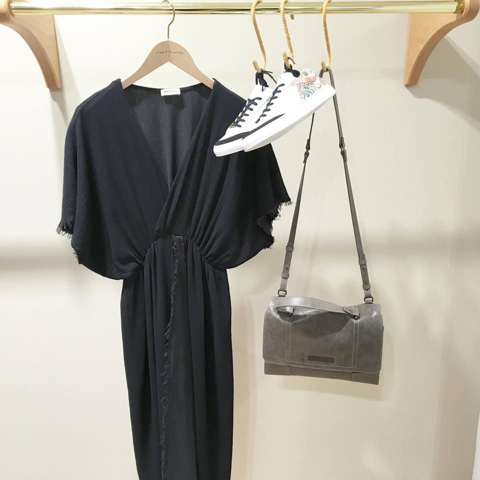 Robe MASSCOB - Baskets et Sac CLIO GOLDBRENNER