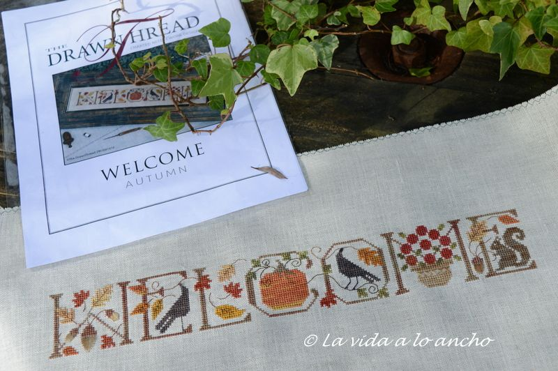 """Welcome Autumm"", de The Drawn Thread, preciosos colores de otoño"