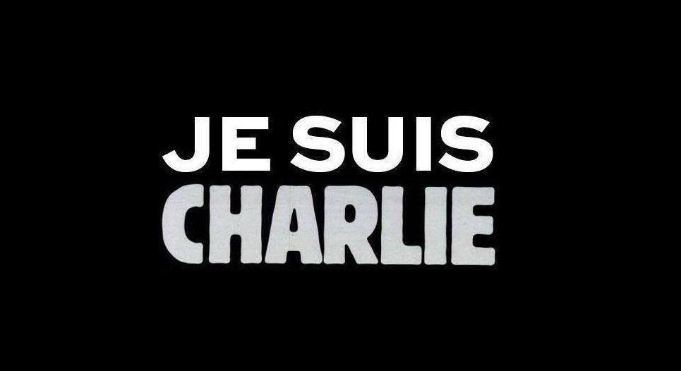 Rassemblement pour Charlie Hebdo à Aurillac