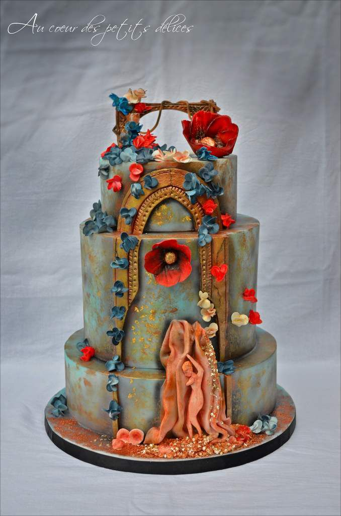 Ma participation au championnat de France de Cake design