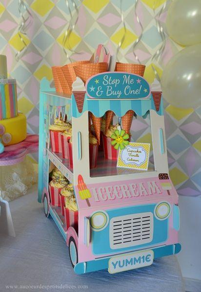 Sweet table: Les 3 ans merveilleux de Leila