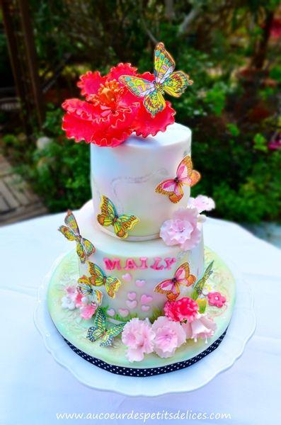 Préférence Gâteau d'anniversaire Papillons - KA15