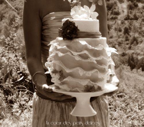 Wedding cake et décoration thème &quot&#x3B;automne&quot&#x3B;