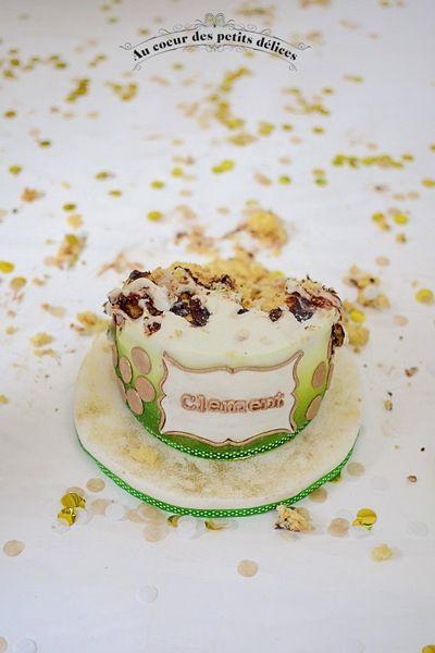 Smash cake avec Pauline Vé Photographie