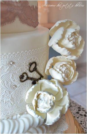 Le Wedding cake de la mariée