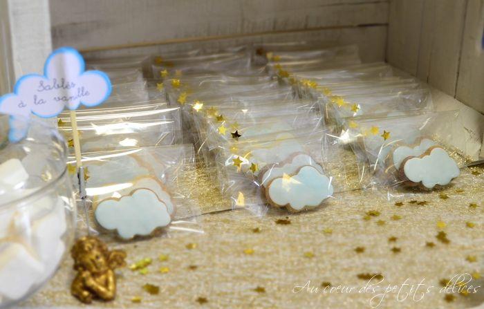 Sweet table thème ange