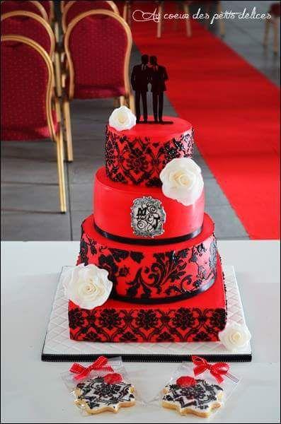 Wedding cake baroque et récit de la cake designer que je suis !