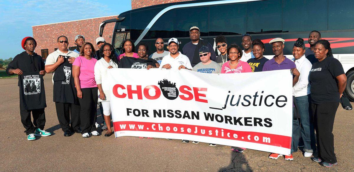 Des travailleurs de Nissan aux Etats-Unis en appellent au gouvernement français