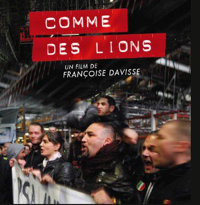 Comme des lions : la grève des travailleurs de PSA Aulnay en 2013