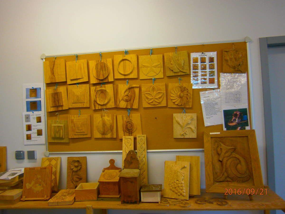 petit tour des ateliers premi re tape l atelier bois. Black Bedroom Furniture Sets. Home Design Ideas