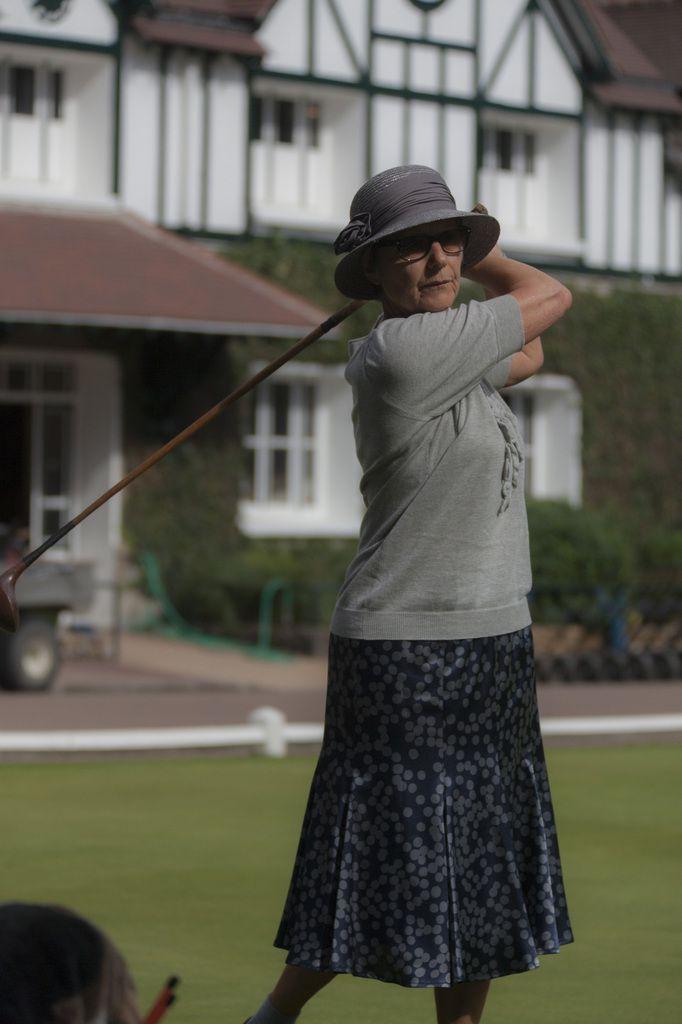 Anne Viret arbitre fédérale FFGolf, gagnante du prix féminin 2012