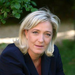 REACTION DE MARINE LE PEN AUX VOEUX PRESIDENTIELS