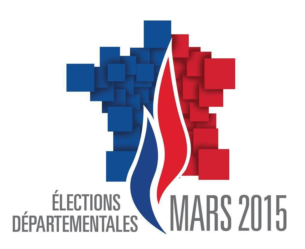 LOGO OFFICIEL DU FRONT NATIONAL POUR LES ELECTIONS DEPARTEMENTALES DE MARS 2015