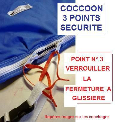 Point n°3 pour sécuriser le Couchage COCCOON