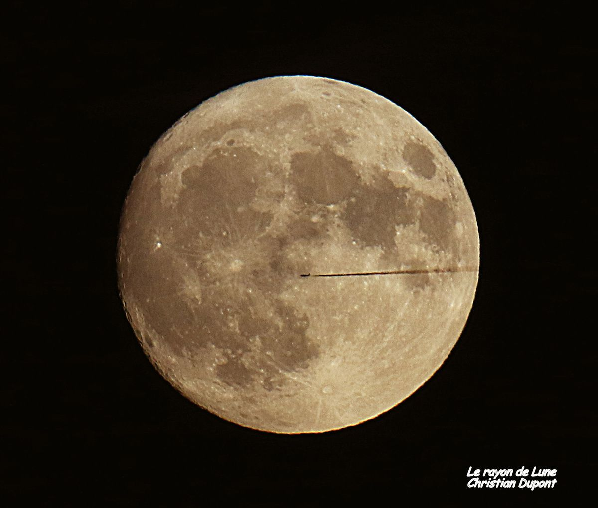 Le rayon de Lune, photo de Christian D.