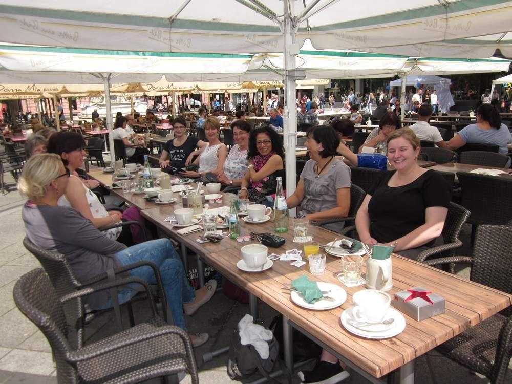 Frühstück am Kornmarkt