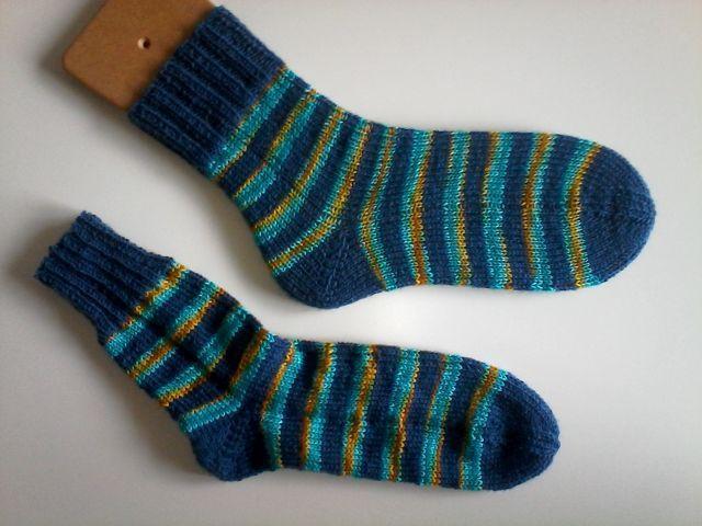 Woll Butt und Hangefärbte Sockenwolle, Größe 36/37