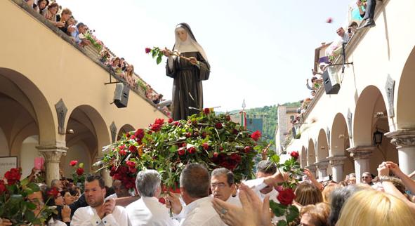 A Spoleto un recital sulla vita di Santa Rita