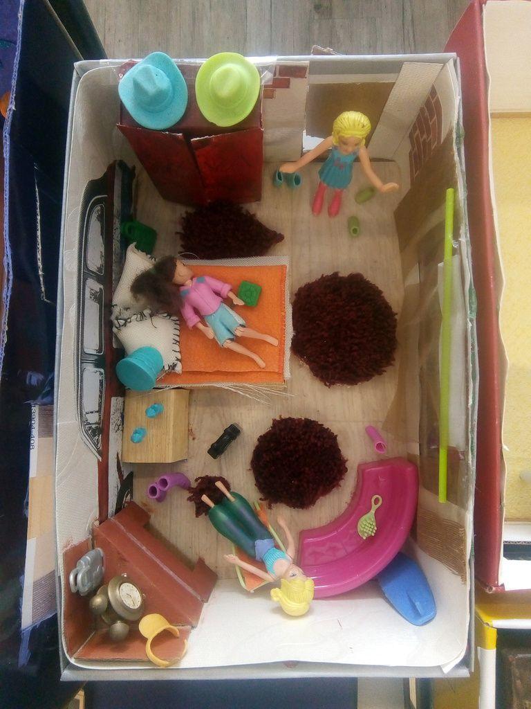 mein Zimmer im Schuhkarton - KUNST- & MUSEUMS-/- Pädagogische ...